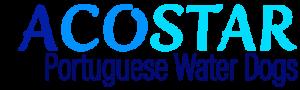 ACOSTAR logo, Portuguese Water Dogs Breeder, Canada